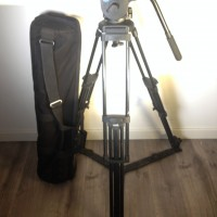 Video Tripod PRO 10 with 1 pan-arm bar + transport bag - 3 months warranty