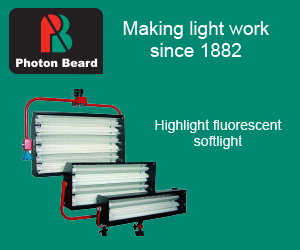 Photon Beard Highlight fluorescent softlight