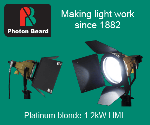 Photon Beard Platinum blonde 1.2kW HMI