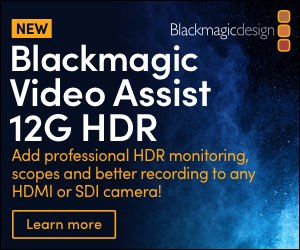 Blackmagic Designb Video Assist 12G HDR