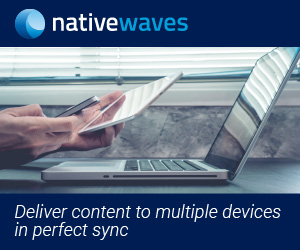Native Waves - Deliver content to multiple device in perfect sync