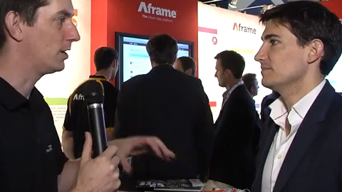 Aframe Cloud Video at IBC 2013