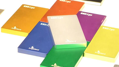 Angelbird SSDs at BVE 2014