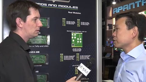 APANTAC openGear Solutions at NAB 2015