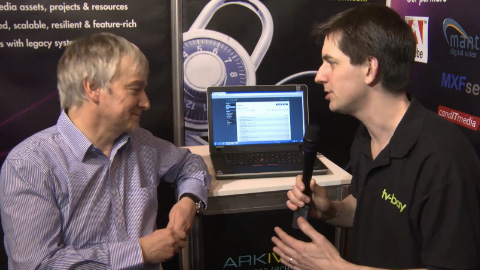 Arkivum at BVE 2012