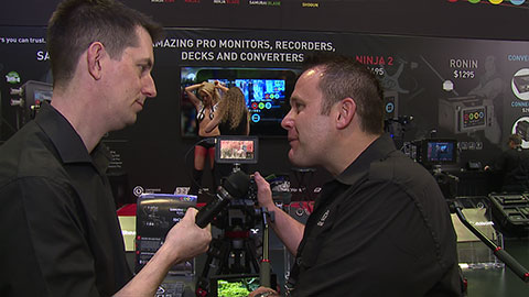 Atomos Operating System at NAB 2014