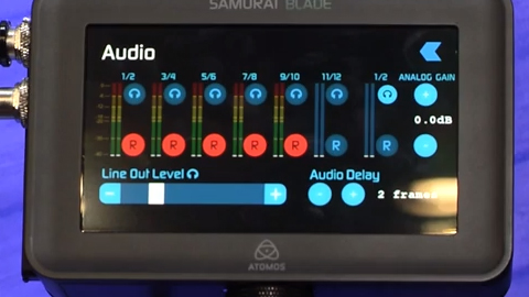 Atomos new Samurai Blade at IBC 2013