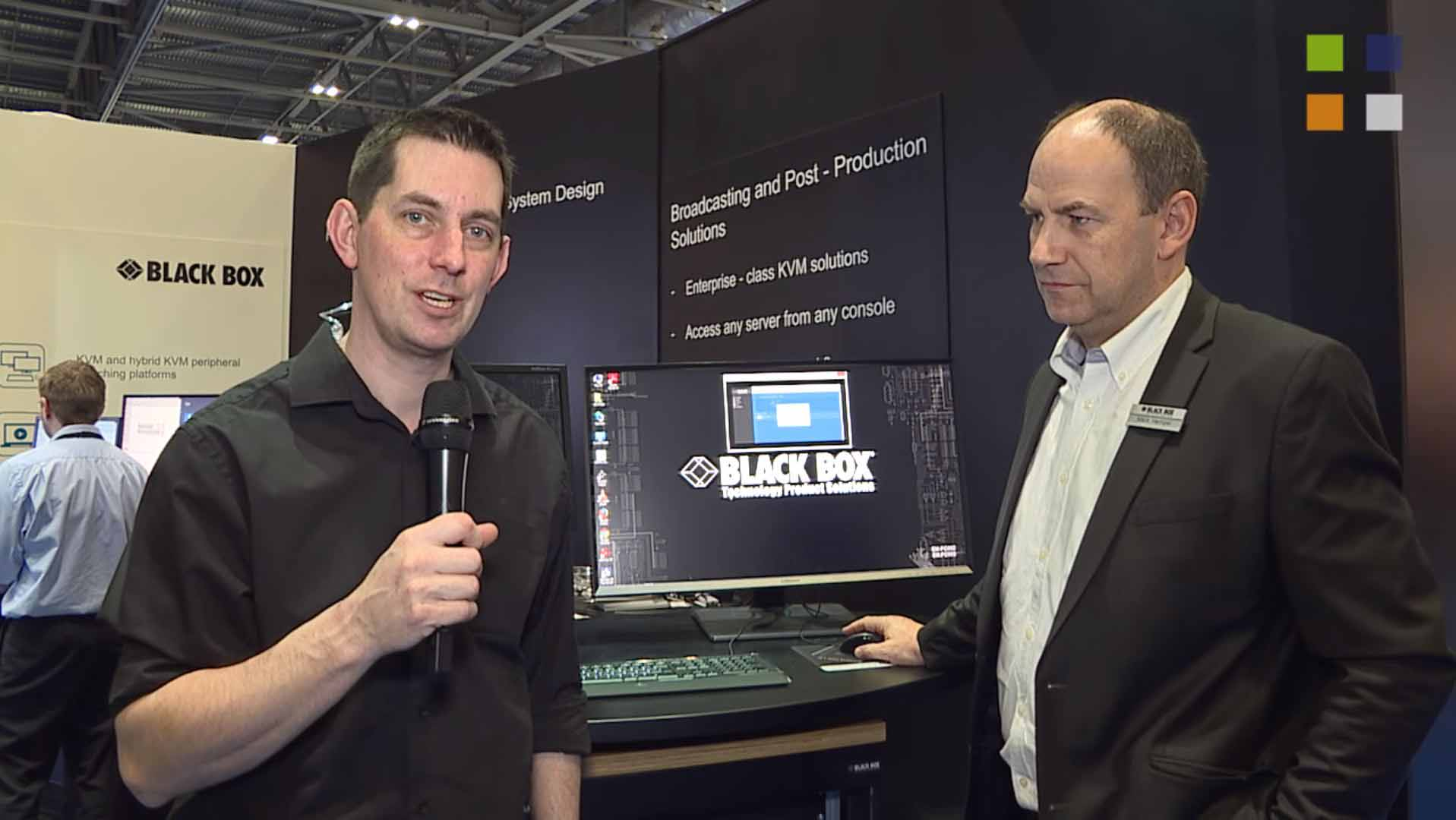 Black Boxs DCX3000 at BVE 2016