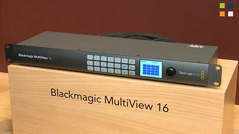Blackmagic MultiView at IBC 2014