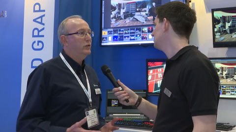 Brainstorm Multimedia at BVE 2015