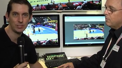 ChyronHego Virtual Placement at IBC 2013