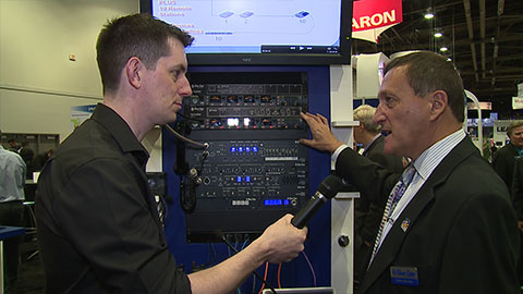 Clear-Com HelixNet Partyline at NAB 2014
