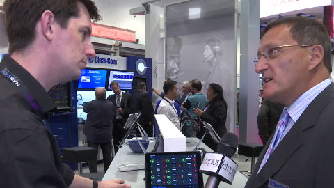 CLEARCOM IOS INTERCOM at NAB 2015