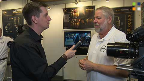 Cooke Optics talk anamorphic at IBC 2014
