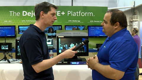 Dejero LIVE+ VSET at NAB 2013