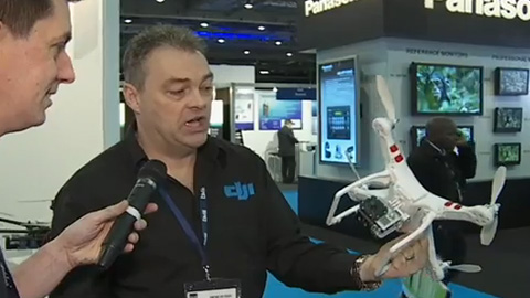 DJI Innovations at BVE 2013