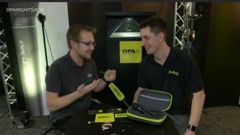 DPA Microphones at NAB 2012