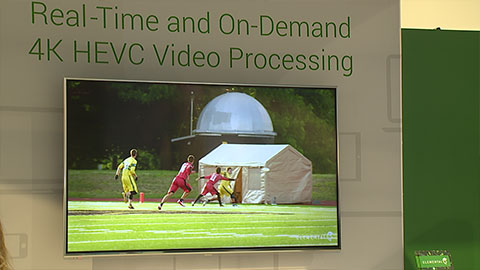 Elemental Technologies HEVC solutions at NAB 2014
