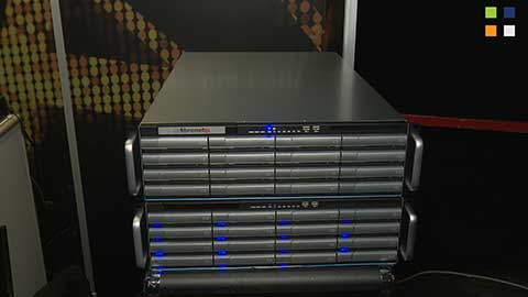 Fibrenetix with StorageDNA at IBC 2014