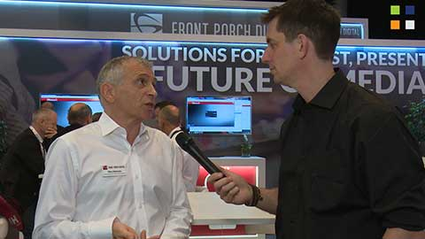 Front Porch Digital at IBC 2014