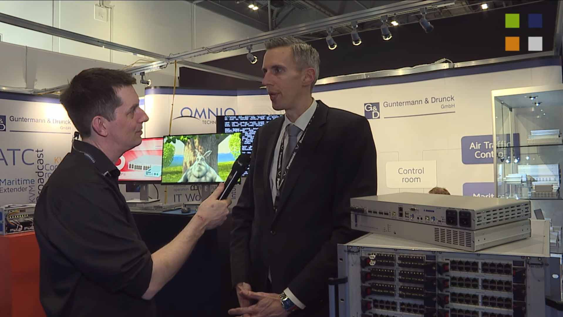 Guntermann and Drunck at BVE 2016