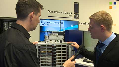 Guntermann and Drunck DP-HR range at IBC 2014