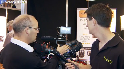 Hireacamera at BVE North 2011