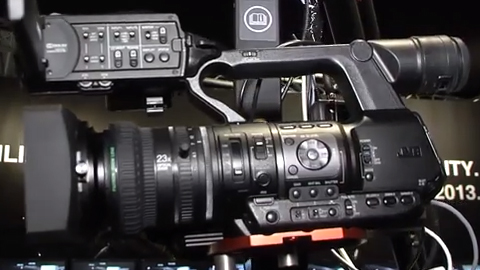 JVC GY-HM600 series camera updates at IBC 2013