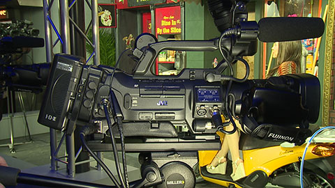 JVC GY-HM850 and GY-HM650 at NAB 2014