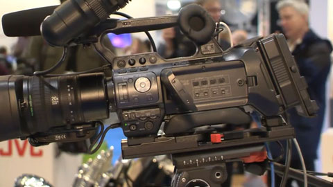 JVC HM850 at BVE 2014