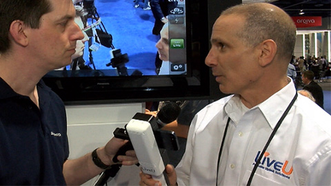LiveU: Smart Grip at NAB 2013