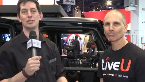 LIVEU Workflow solutions at NAB 2015