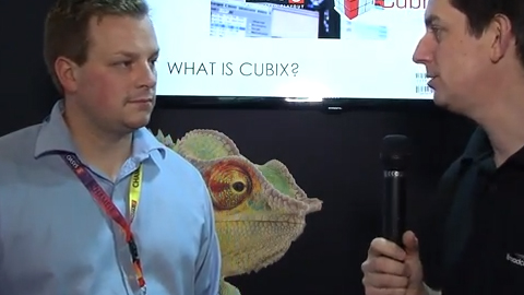 Loft London Solutions with Cubix on the Oasys stand at IBC 2013