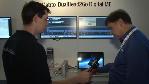 Matrox Graphics at IBC 2012 Part Two