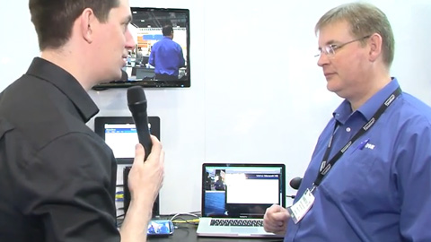 Matrox Monarch HD and VS4 at BVE 2014