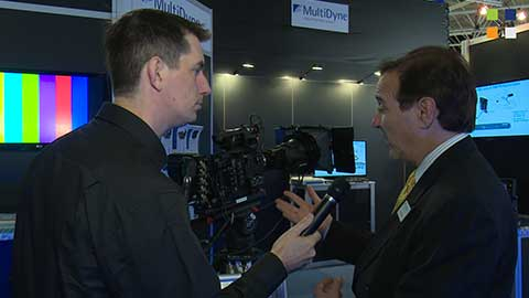 MultiDyne SilverBACK at IBC 2014
