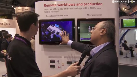 Net Insight at IBC2011