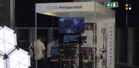 New 32inch Quasar Screen from PortaPrompt at IBC 2019