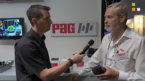 PAG talk about flying with batteries at IBC 2014