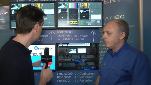 Phabrix at IBC 2012 Part Two