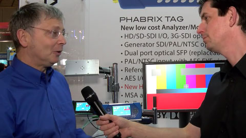 Phabrix TAG and Rx at IBC 2015
