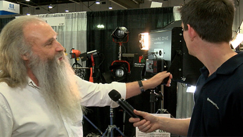 Photon Beard: Square One Light at NAB 2013