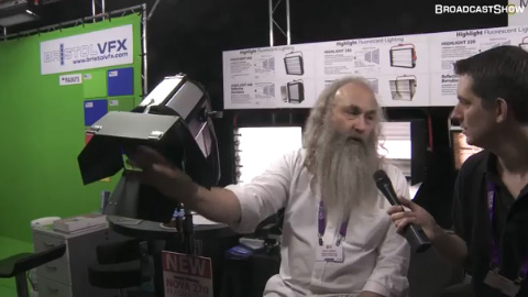 Photon Beard at IBC2011