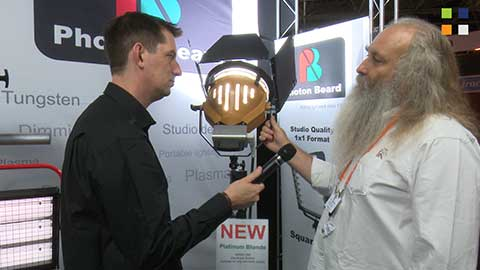 Photon Beard Platinum Blonde at IBC 2014