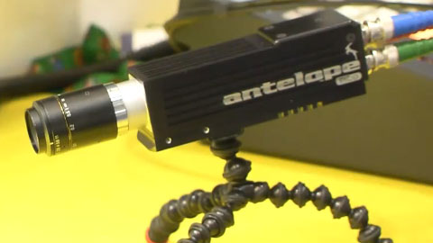 Polecam Slow Motion Minicams at BVE 2014