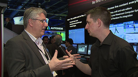 Quantel Enterprise sQ at NAB 2014