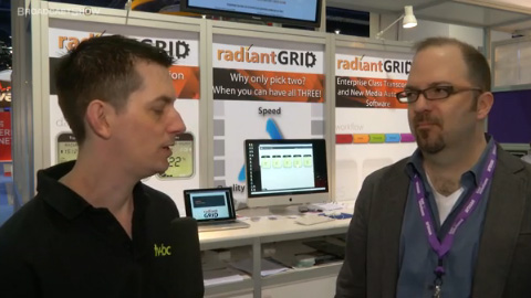 Radiant Grid at NAB 2012