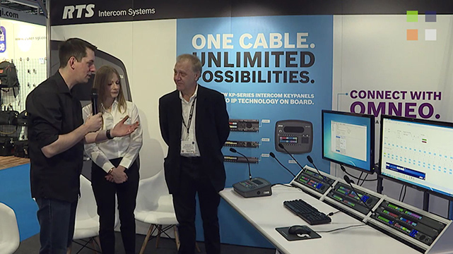 RTS Intercoms at BVE 2016