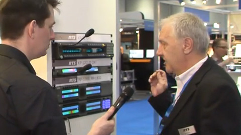 RTS Omneo at BVE 2014
