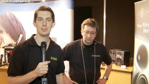 Sennheiser at BVE North 2011